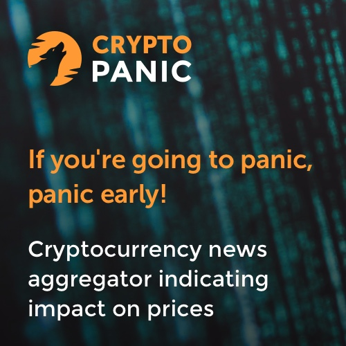 CryptoPanic - Cryptocurrency news aggregator indicating impact on price